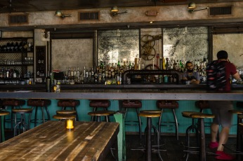 Picture of a bar in Alphabet City on the Lower East Side in New York City NYC New York by Mary Catherine Messner mcmessner
