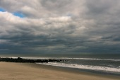 Travel pictures of the winter beach in Ocean Grove OG, New Jersey NJ by Mary Catherine Messner mcmessner.